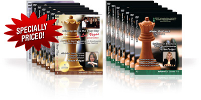 All 14 Susan Polgar DVDs Specially Priced