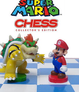 Super Mario Collector Chess Set